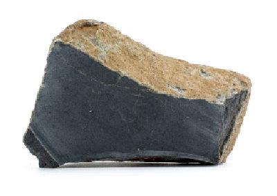 porzione di roccia di basalto