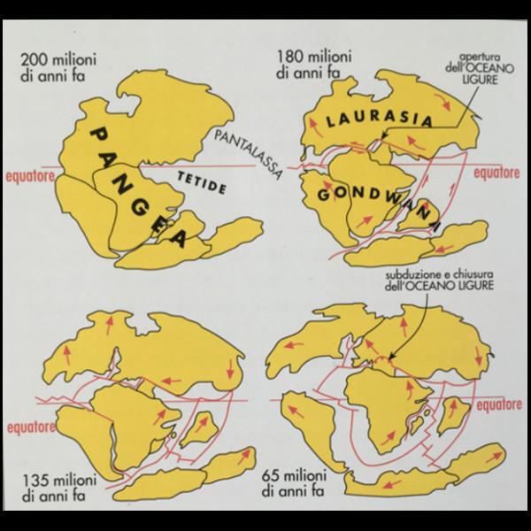 mappa geologica dell'area del Garda
